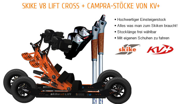 Skike v8 LIFT Cross